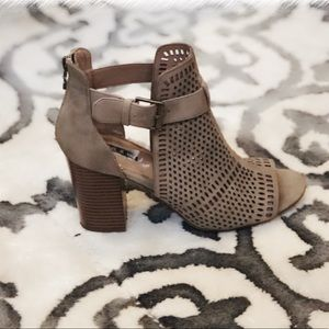 Shoes - Parker and Sky Peep Toe Bootie